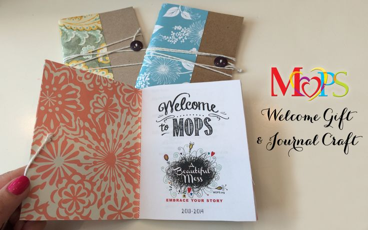 MOPS Welcome Gift and Craft