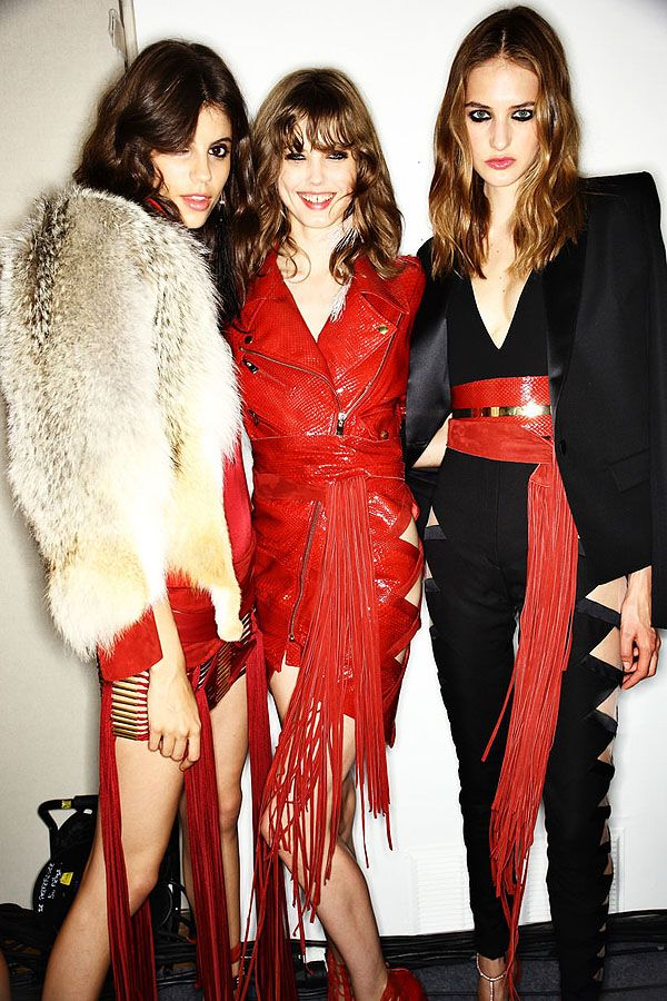 The Babes of the Fall 2015 Couture Shows | Hint Fashion Magazine