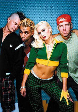 No Doubt! (Adrian Young, Tony Kanal, Gwen Stefani, Tom Dumont)
