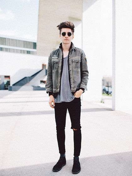 Macho Moda - Blog de Moda Masculina: Jaqueta Jeans Masculina: Pra Inspirar e Onde Encontrar