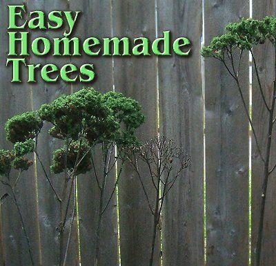 Easy Homemade Trees   A U0027how Tou0027 Article. Miniature TreesMiniature  GardensMini GardensFairy GardensFairies GardenFairy ...