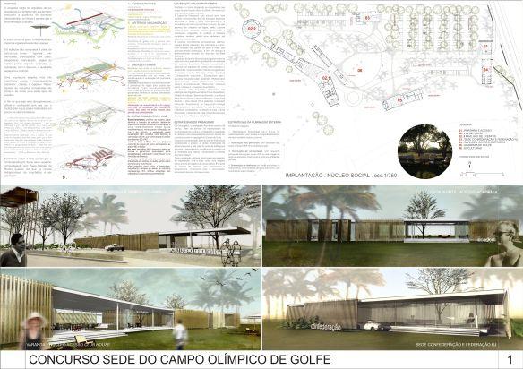 Sede do Campo Olímpico de Golfe – Menção Honrosa 313 - 01