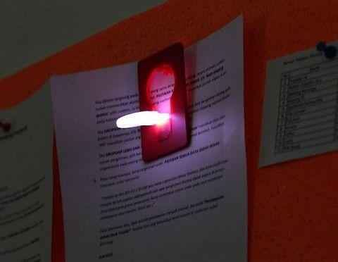 Lampu kartu LED