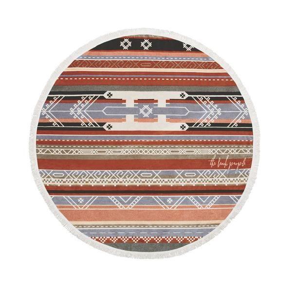 Bedouin Round Towel – Ahoy Trader
