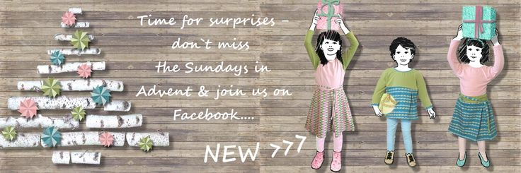 Time for surprises & we have some Advent gifts for you! Don`t miss the Sundays in Advent & join us on Facebook!