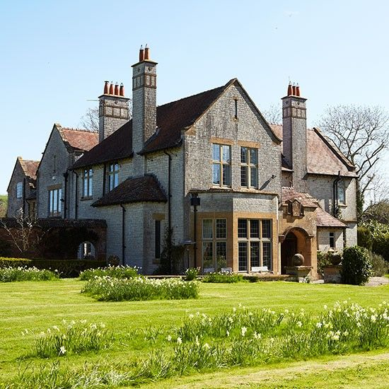 Period Manor House In Somerset