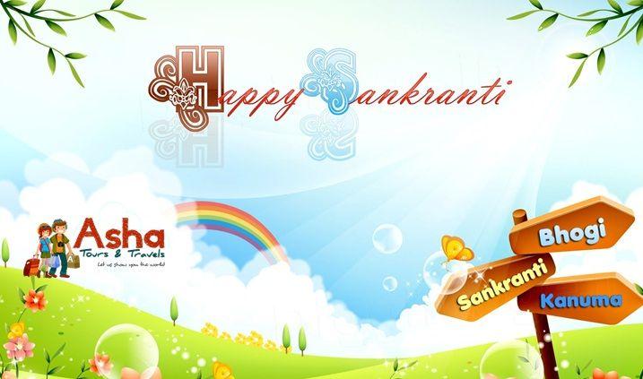 Asha Tours & Travels wishes everybody Happy Makar Sankranti. #Asha #Tours #Travels #Wishes #Happy #Makar #Sankranti