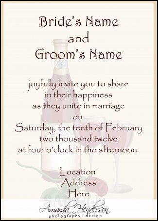 Funny Wedding Invitations Wording Samples