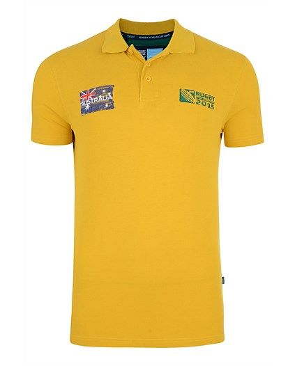 Rugby World Cup 2015 AUSTRALIA country collection - Australia Polo