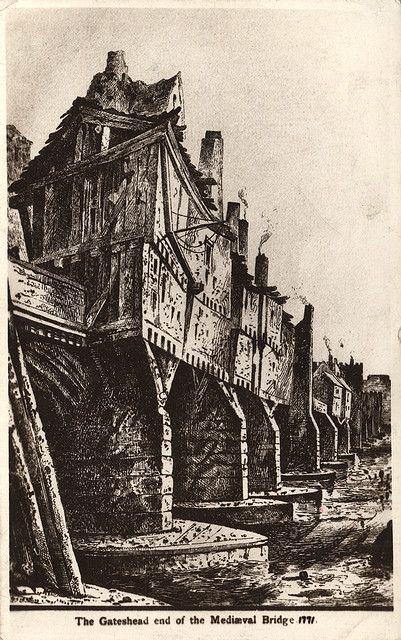 newcastle upon tyne england medieval | 068215:Tyne Bridge Newcastle upon Tyne Unknown 1771 | Flickr - Photo ...
