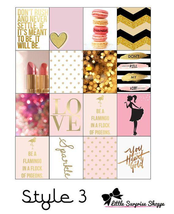 Fashion Icon Erin Condren Stickers by LittleSurpriseShop on Etsy