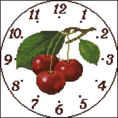 Orologio cigliege