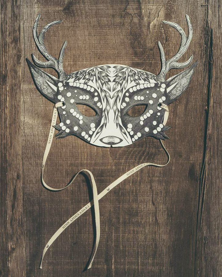 Animal Masks with Lovely Designs- Petit & Small