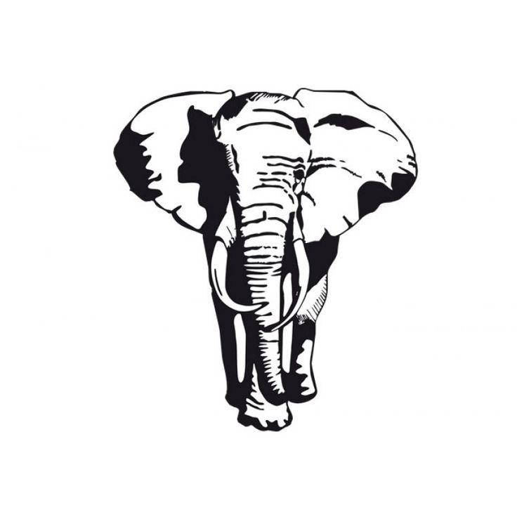 Elephant stencil | Etsy