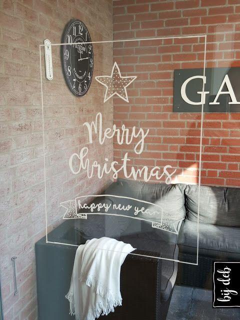 Kerst raam decoratie... | bijdeb | Bloglovin'