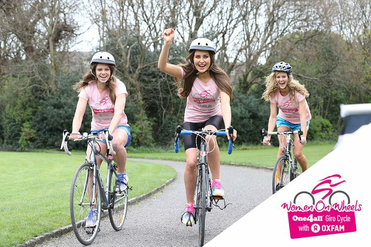 Rozanna Purcell supporting Women on Wheels - Ireland's first female-only cycle for charity which runs along the final leg of the official Giro d'Italia route.  The 22km fun cycle with Oxfam and One4all Ireland takes place on Saturday 10 May from Dublin's Merrion Square to Bull Island, Clontarf and back – the day before the world's greatest cyclists race the route from Armagh to Merrion Square.   ➨ Sign up here: www.one4allwomenonwheels.com & SHARE!