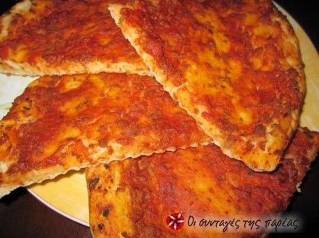 Πίτσα Κιμά - Λαχματζούν