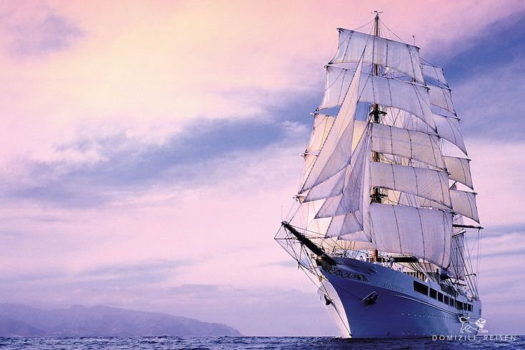 #SEACLOUD II Length: 117.0 - Width: 16.0 m - Year built: 2001 - Passenger decks: 4 - Cabins: 47 - Passengers: max 94 - Crew: 65 - Language on board: English, German - Currency: Euro -  Flag: Malta - Facilities: Restaurant with free seating, Lido deck with bar, lounge, library with laptop, gym, sauna, relaxation  area, swimming platform, hospital, boutique, water skiing, snorkeling equipment