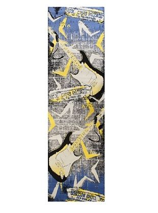 -27,700% OFF Punk Rug, Blue, 2' 8