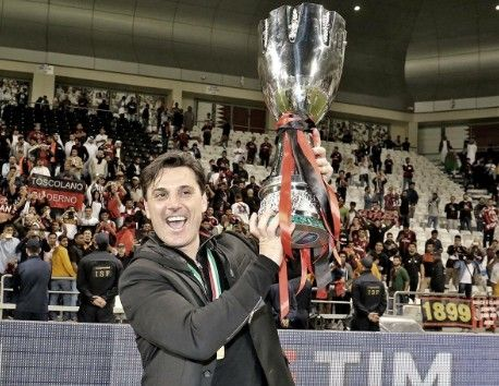 Vincenzo Montella believes it can be the start of a new era after Milan beat Juventus for the Supercoppa Italiana  Source