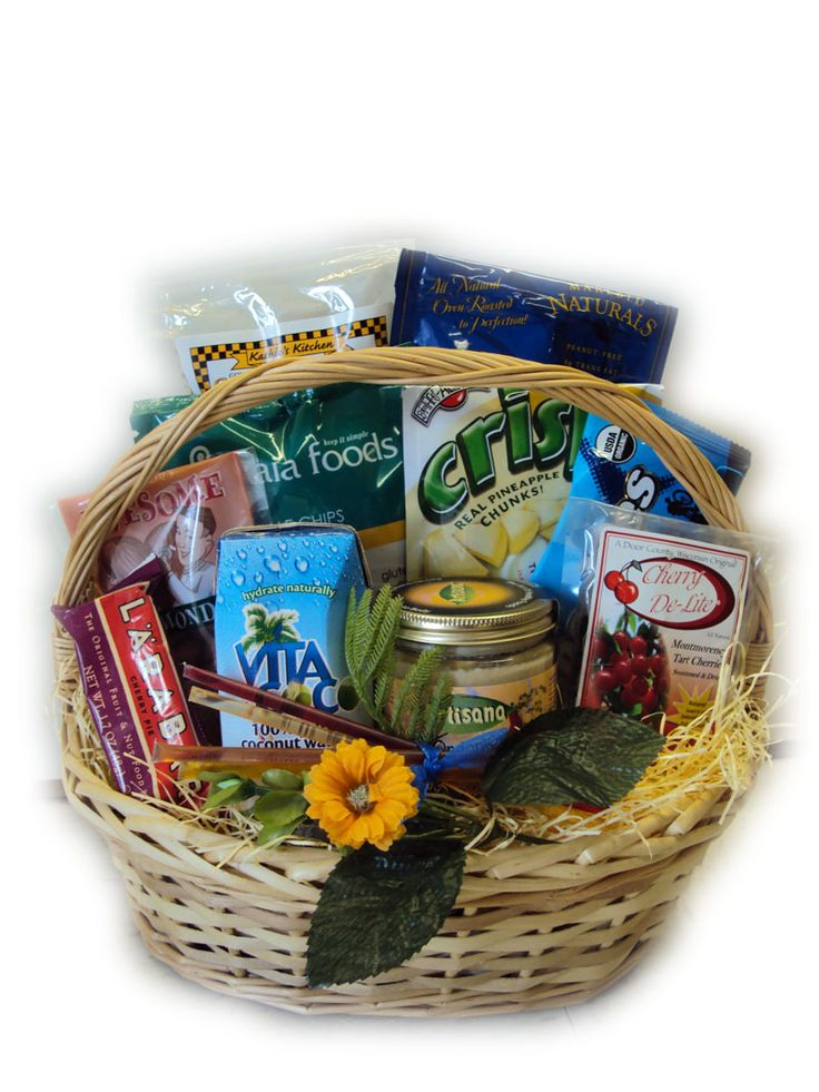 Athlete Health Sampler Healthy Gift Basket