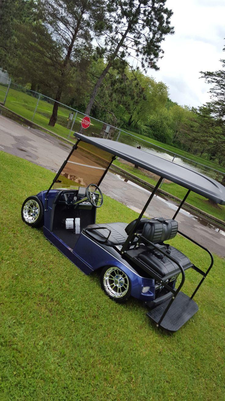 06 ezgo build air ride custom dash tv and much more