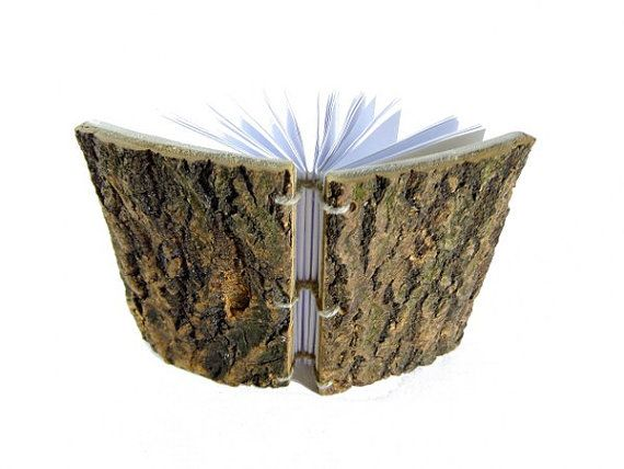 WOOD BOOK GIFT  Wooden Book Unique Gift Rustic Book by NewDesignUS, $49.00