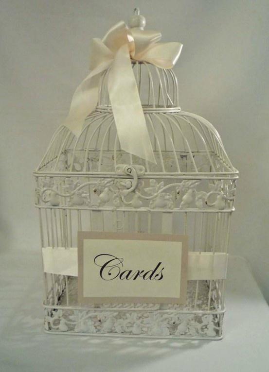 Card Holder Bird Cage