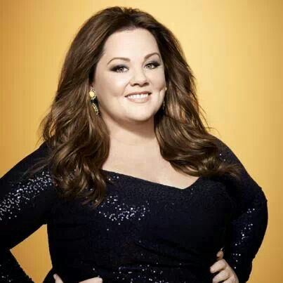 Melissa McCarthy--she's living proof that you don't have to be a stick in order to be gorgeous