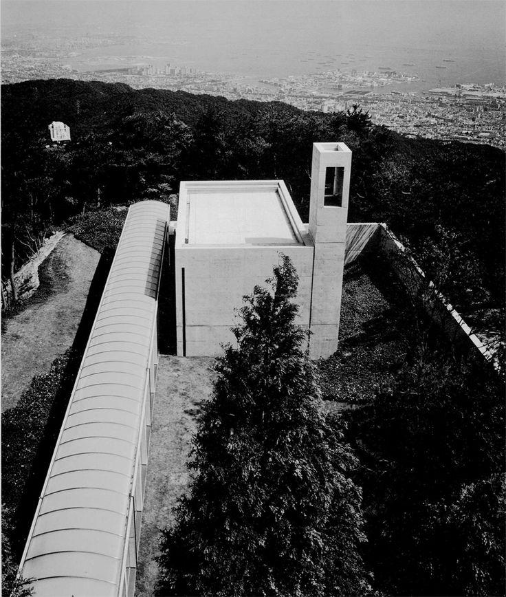MY ARCHITECTURAL MOLESKINE®: TADAO ANDO: CHAPEL IN MT. ROKKO