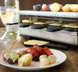 Raclette Recipes.  Making an evening of Raclette is a great way to entertain and it's so good.