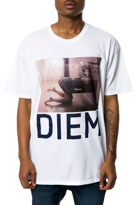 DIEM The Suicide Tee in White