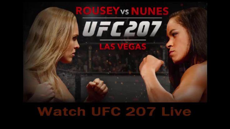 Watch UFC 207 Live | Watch Online HDTV