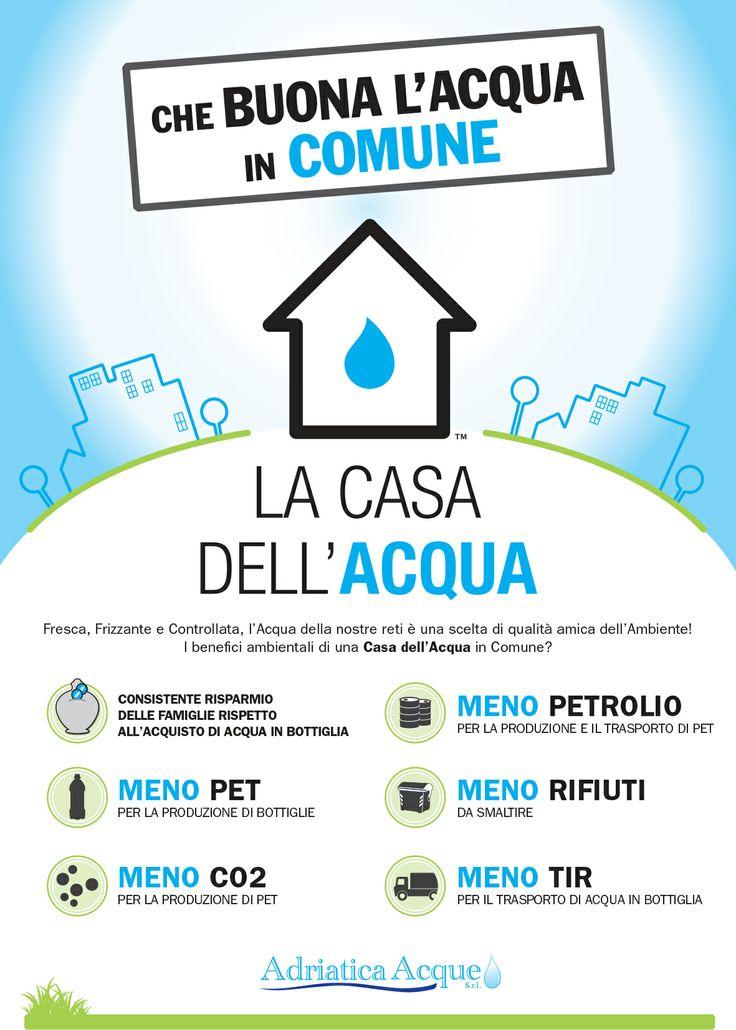Che BUONA l'ACQUA in COMUNE!  #valori #dati #eco #sostenibilità #manifesto #ambiente #menopet #menoCO2 #menopetrolio #menorifiuti #menotir #maggiorerisparmio