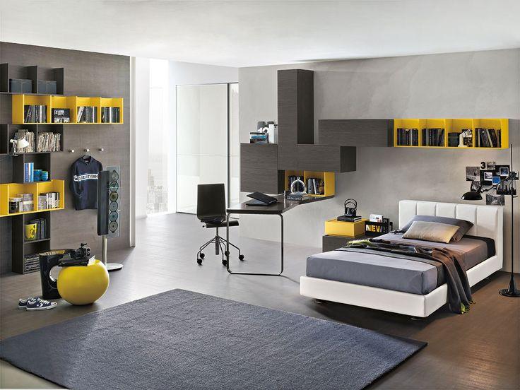 Composizione T03 con letto Club e comodino Replay | gruppotomasella.it