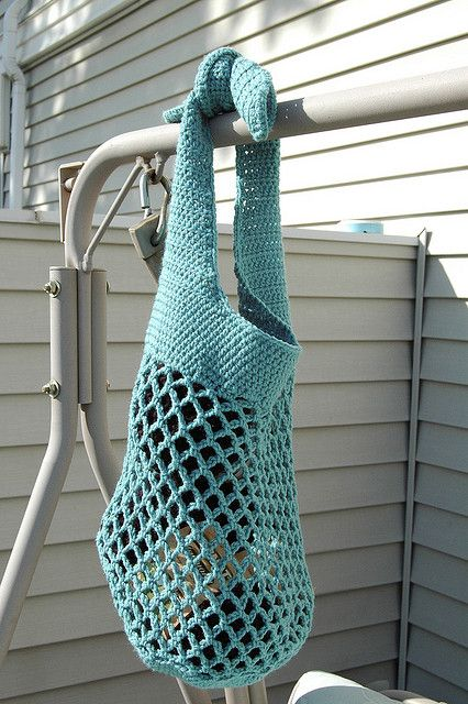 Crochet Net Bag Pattern Free : 50 best images about Crochet bags on Pinterest Crochet ...