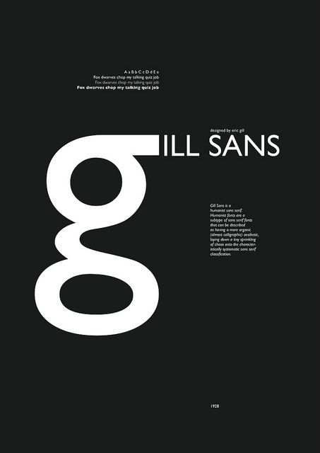 18 Best Images About Gill Sans On Pinterest Graphics