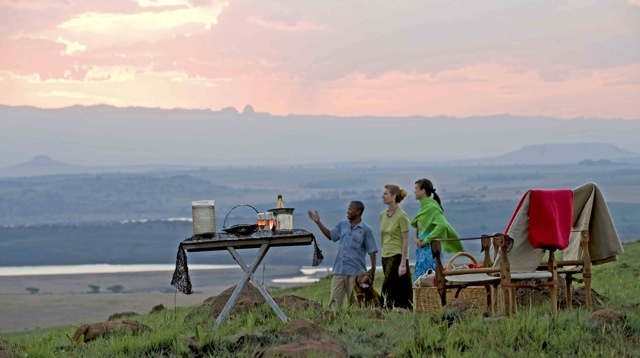 Sundowners in South Africa. Booking our trip there soon and I can't wait.