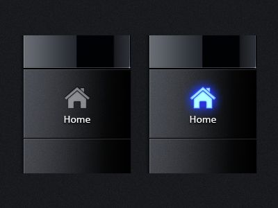 Dribbble - Taskbar Buttons by The Skins Factory