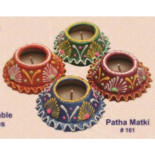 Online Shopping for Handmade earthen patha matki shaped | Diyas and Lights | Unique Indian Products by Muhenera - MMUHE12353965050