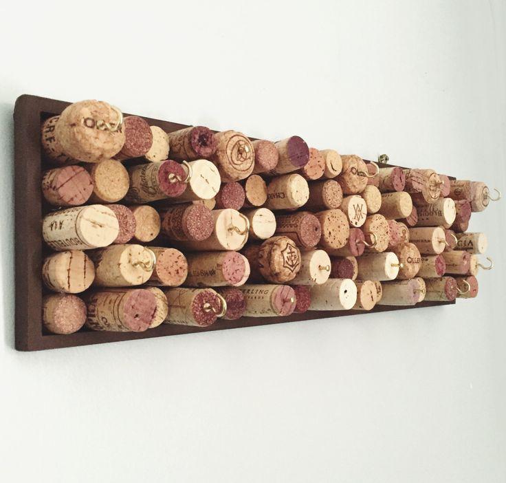 Jewelry Organizer Key Holder Wine Cork by uncorKedbyKimberly