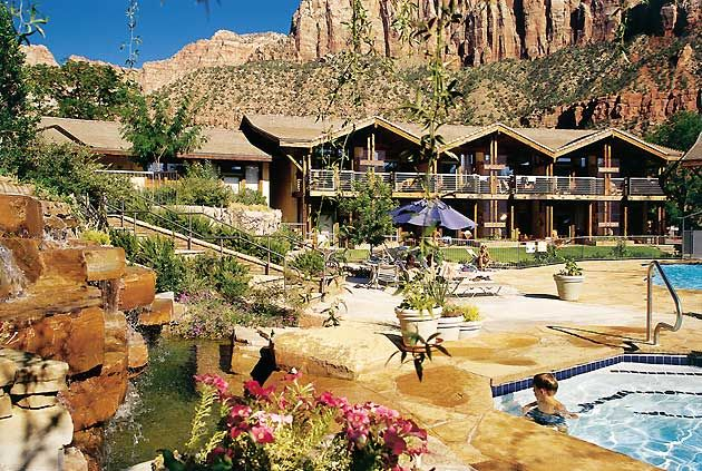 Desert Pearl Inn at Zion National Park. I would like to visit here one day as well as all Nat'l parks!
