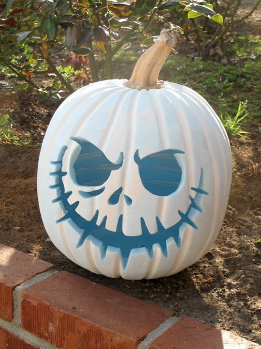 By Will H. A very cool foam pumpkin that can be used year after year! #Foam #Foamhalloweendecor #Jackolantern