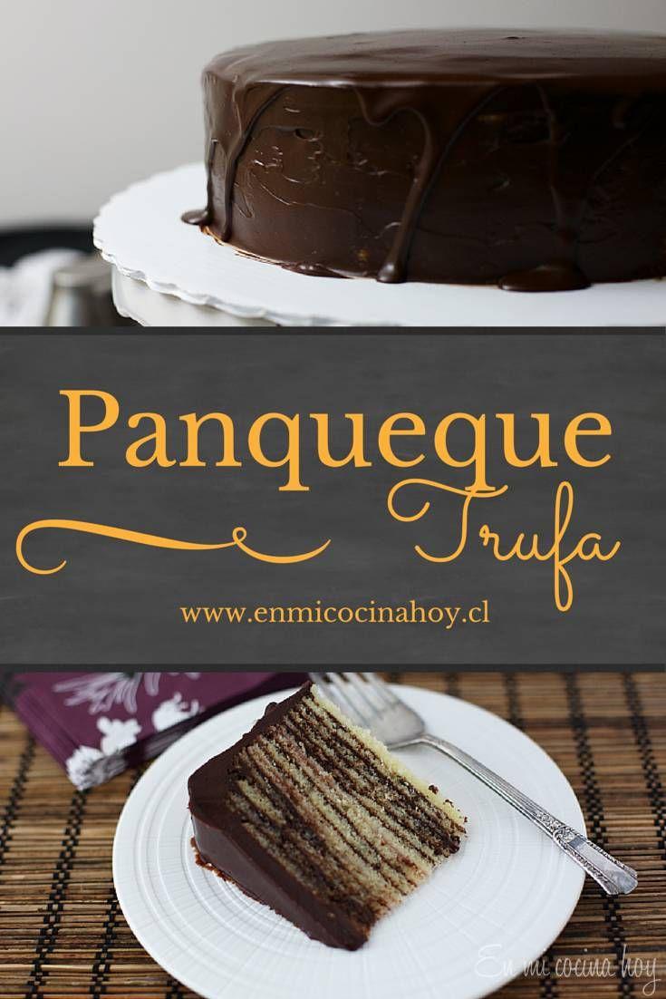 La torta panqueque trufa es laboriosa de hacer, pero el resultado es realmente espectacular, no te vas a arrepentir. Deliciosa e irresistible.