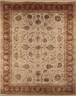 Aurora.Traditional Collection Rug. Hand knotted from 100% New Zealand Wool and cocoon silk. Price n/a.