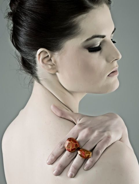 My Seoul Red Double Ring by Cristina Zani. Photography by Livio Morabito.