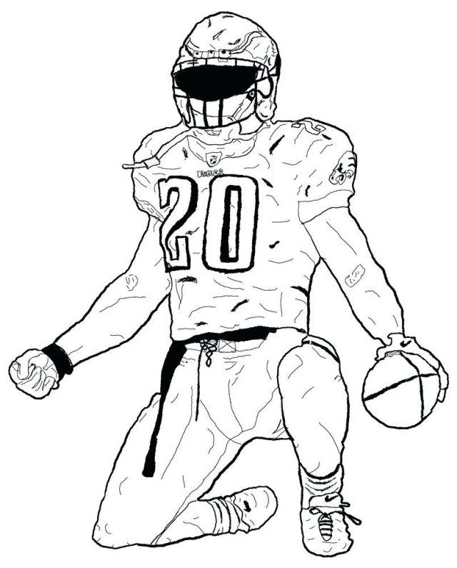 - 21+ Awesome Image Of Football Coloring Pages - Entitlementtrap.com Football  Coloring Pages, Sports Coloring Pages, Football Player Drawing
