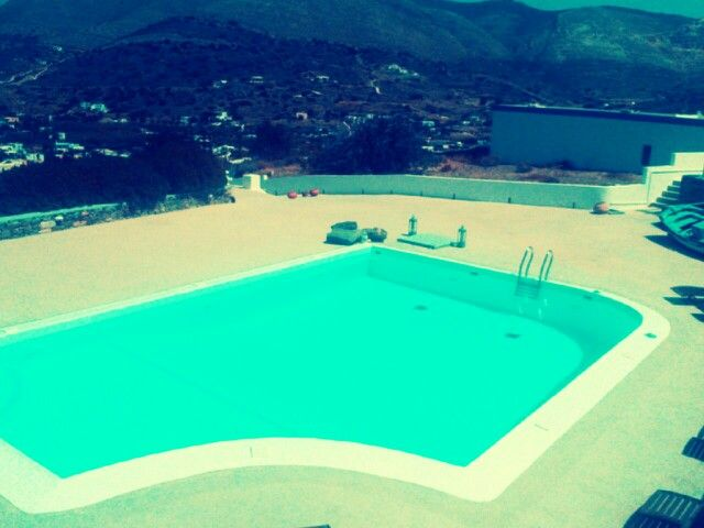 Last countable moments @Pino di Loto luxury apartments SyrosIslandGR   ...promise to come back asap!!!