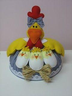 Blog do passo a passo: galinha com pintinhos cobre bolo passo a passo