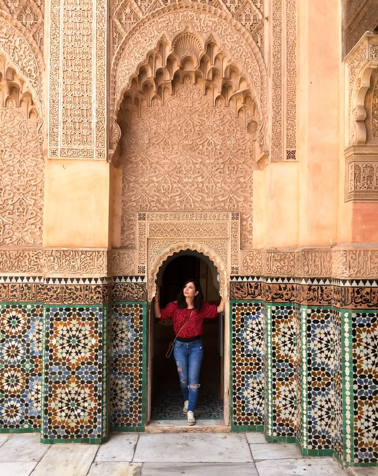 Medersa Ben Youssef, the largest theological college in Morocco